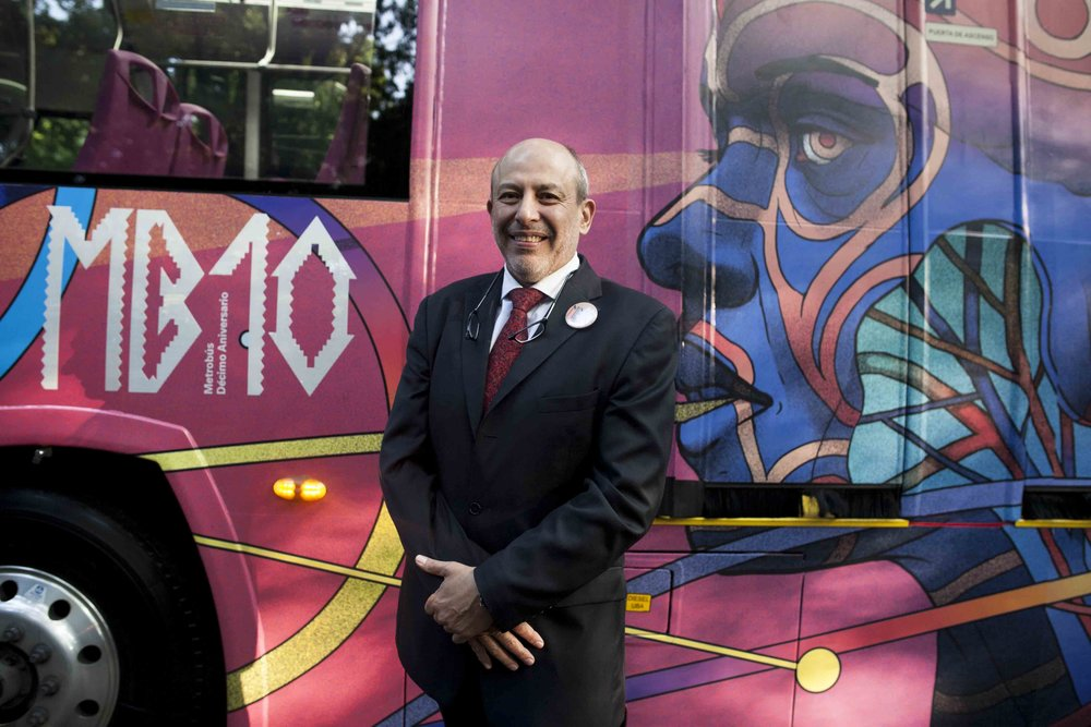 metrobus director 10th anniversary art