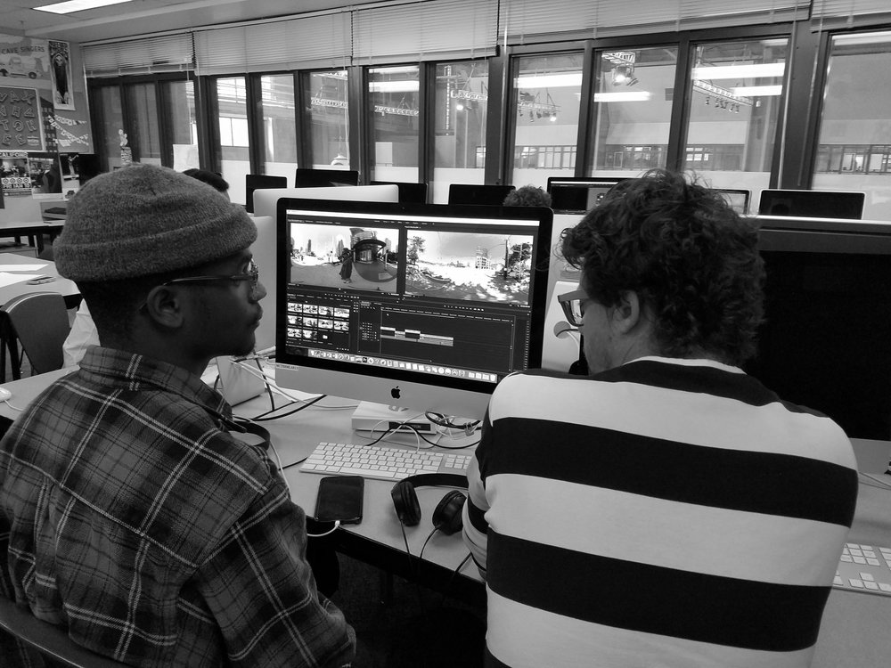 EDITING 360º @ MEDIA ARTS SKILLS CENTER PILOT