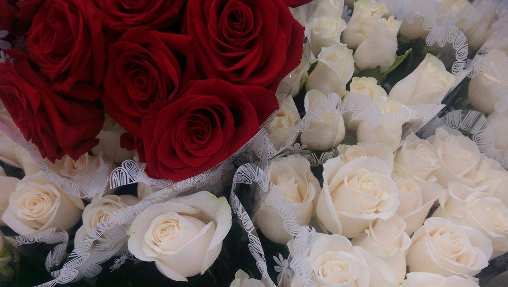 Ecuadorian Roses  Year round