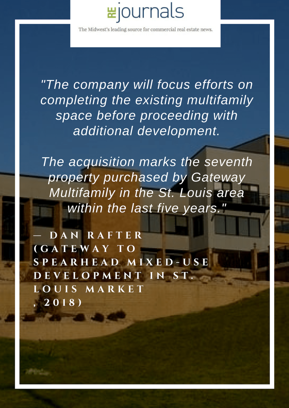 Gateway to spearhead mixed-use development in St. Louis market