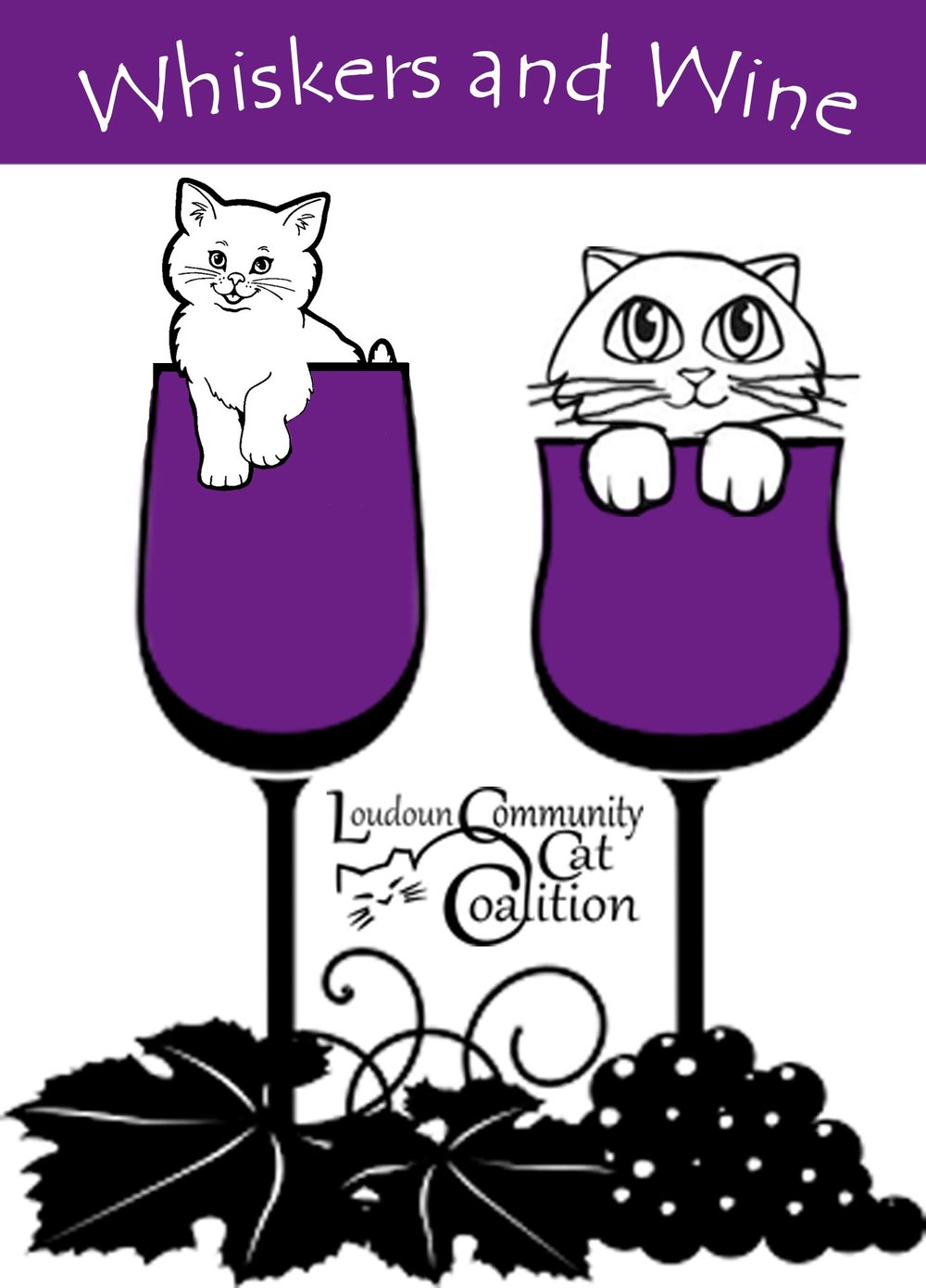 Whiskers and Wine Event