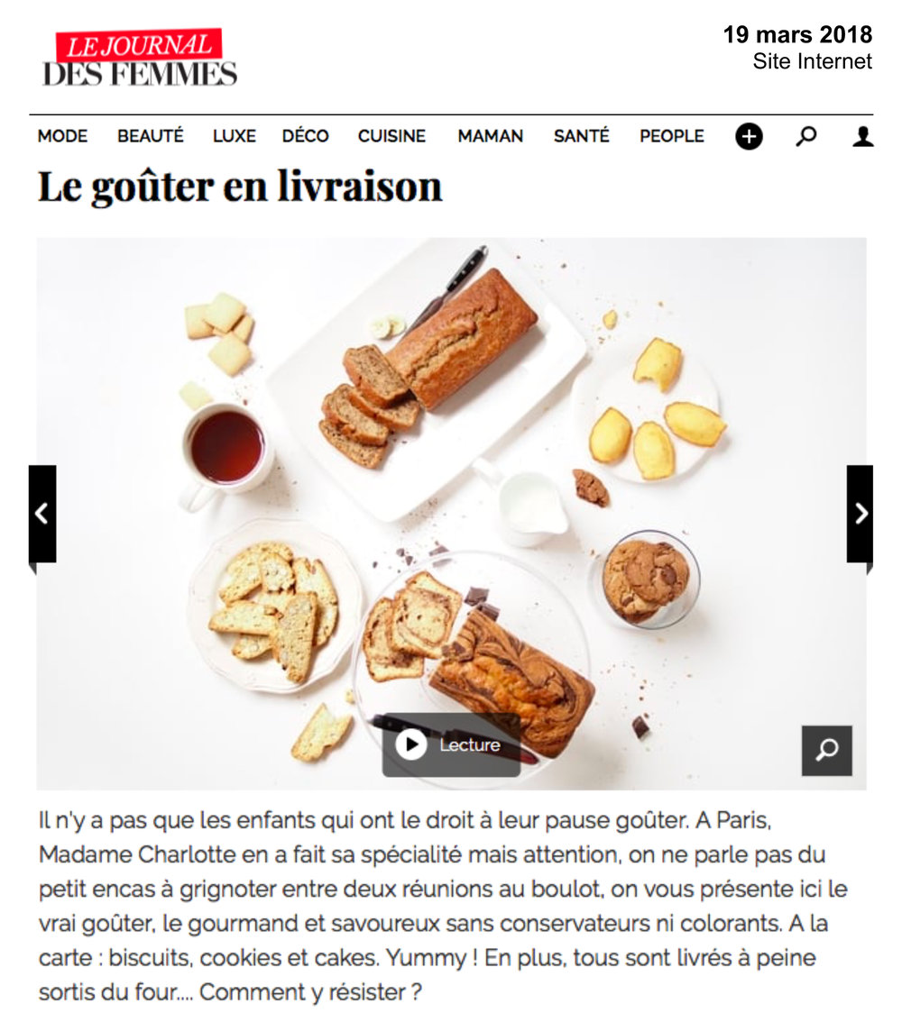 Le Journal des Femmes - Mars 2018 -