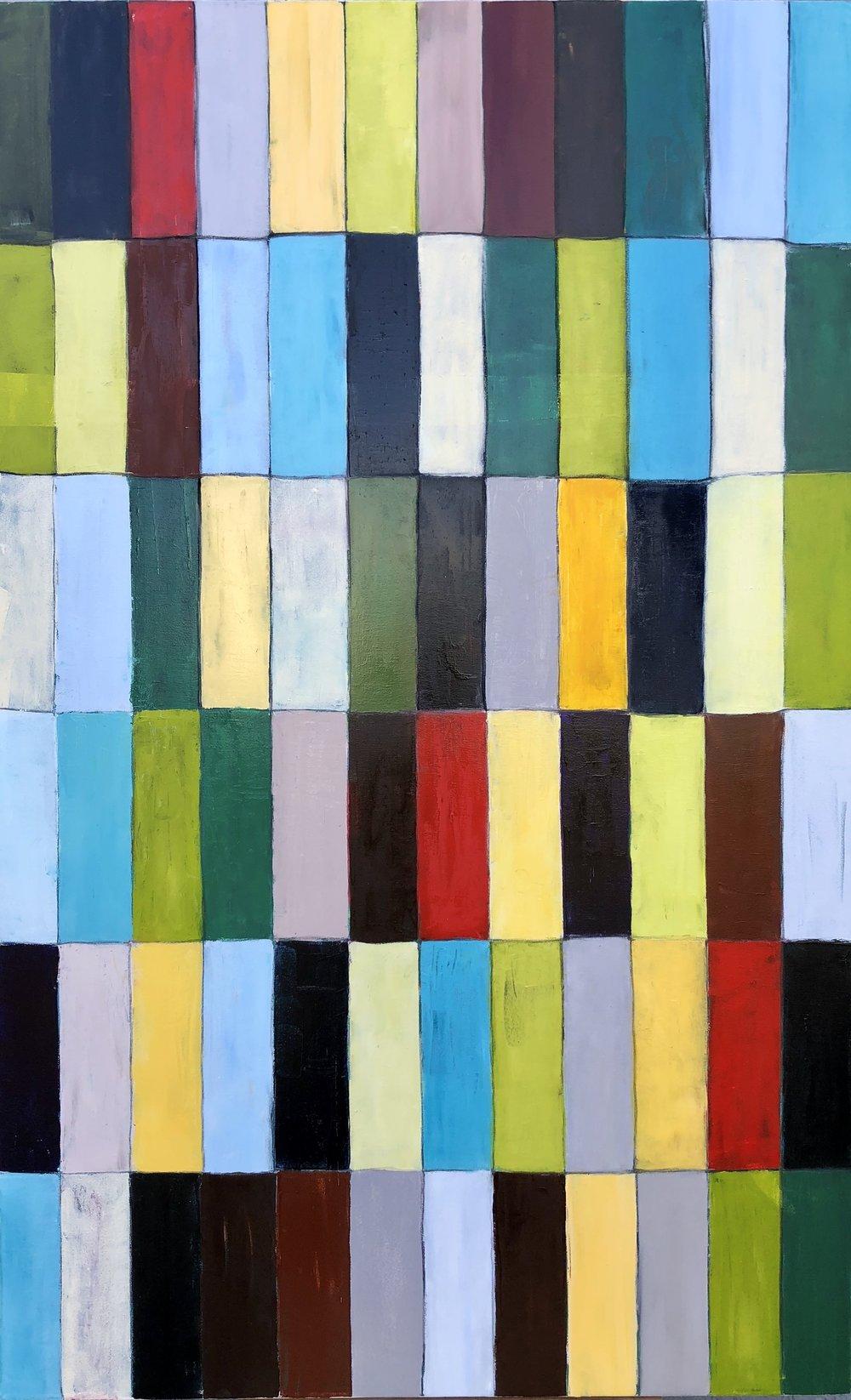 """Vibrato, Oil on Canvas, 48""""x36"""""""