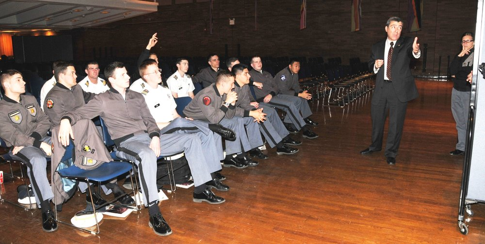 HOSTAGE NEGOTIATION TRAINING FOR CADETS FROM THE U.S. MILITARY ACADEMY AT WEST POINT