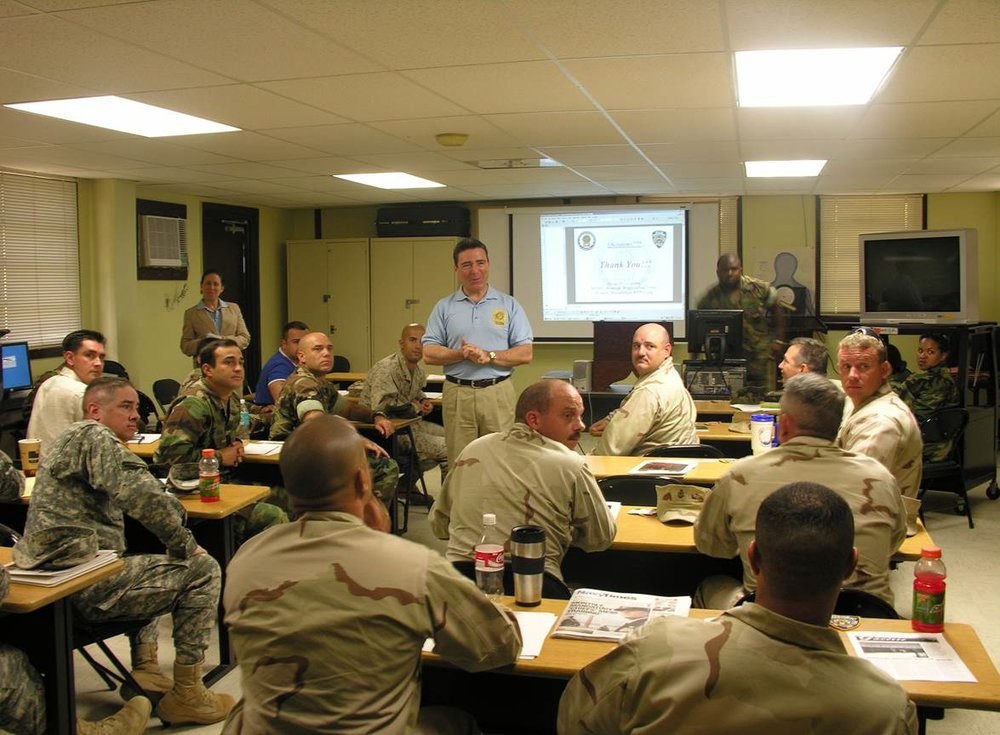 TRAINING PROGRAM FOR THE U.S. MILITARY JOINT TASK FORCE AT GUANTANAMO BAY CUBA