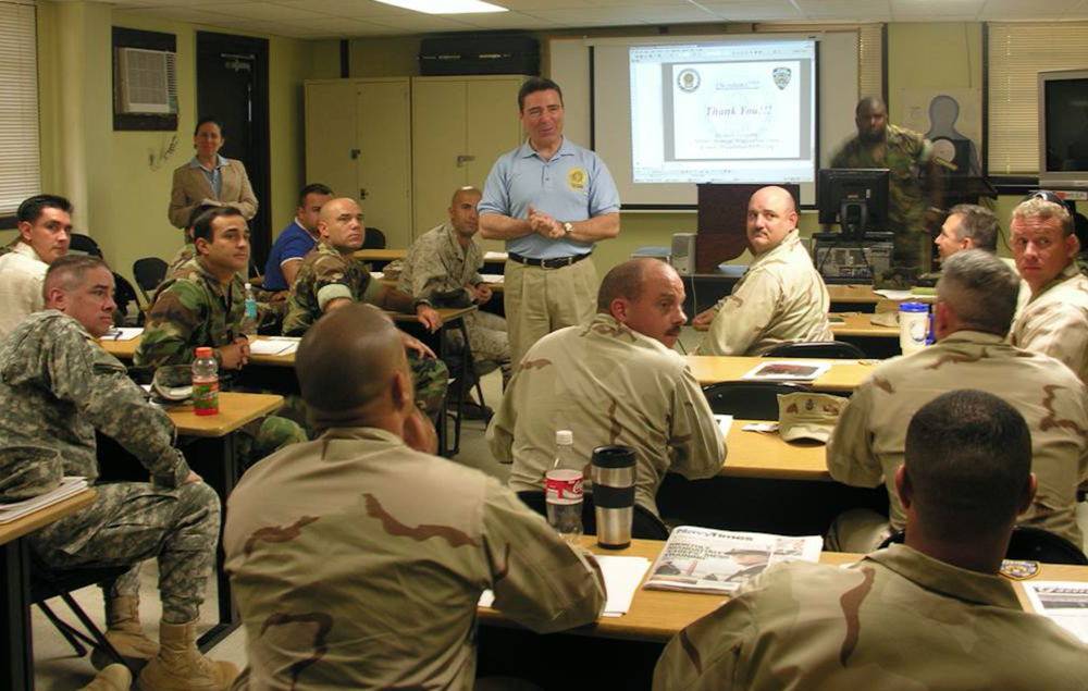 Hostage negotiation training for the American Joint Task Force at the Guantanamo Bay Cuba Military Base