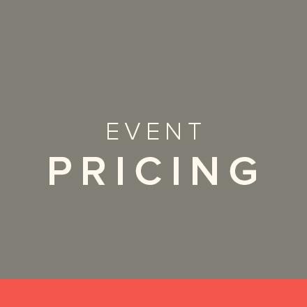 Event Pricing Sheet