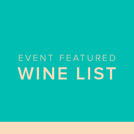 Event Featured Wine List