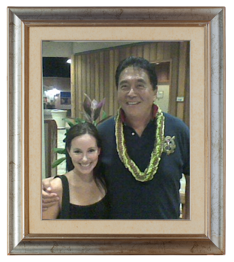Robert Kiyosaki and myself in Honolulu, Hawai'i.