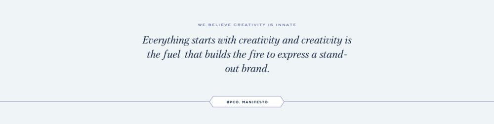Creativity is Innate