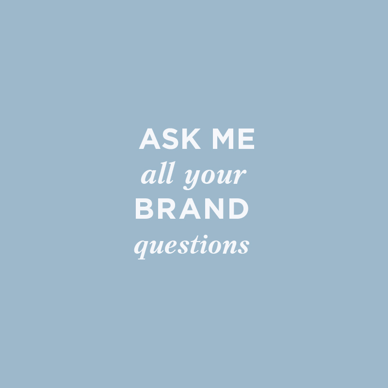 Brand Strategist - Ask Me All Your Brand Questions