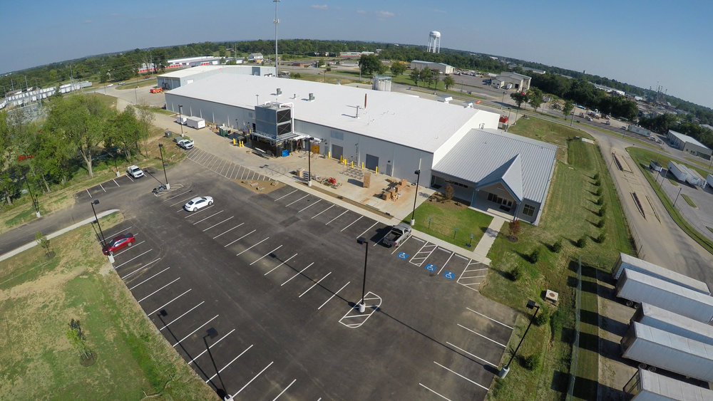 SFI Wet Ingredients Facility located in Siloam Springs, Arkansas