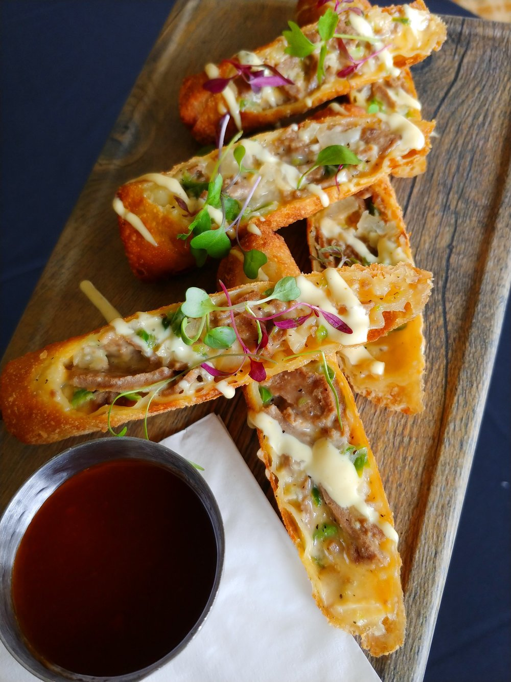 Philly Cheese Steak Eggrolls
