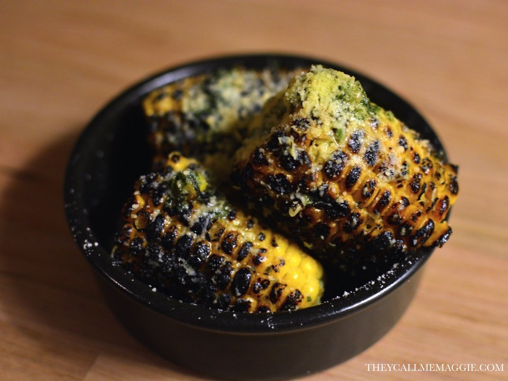 Grilled cuban corn on the cob