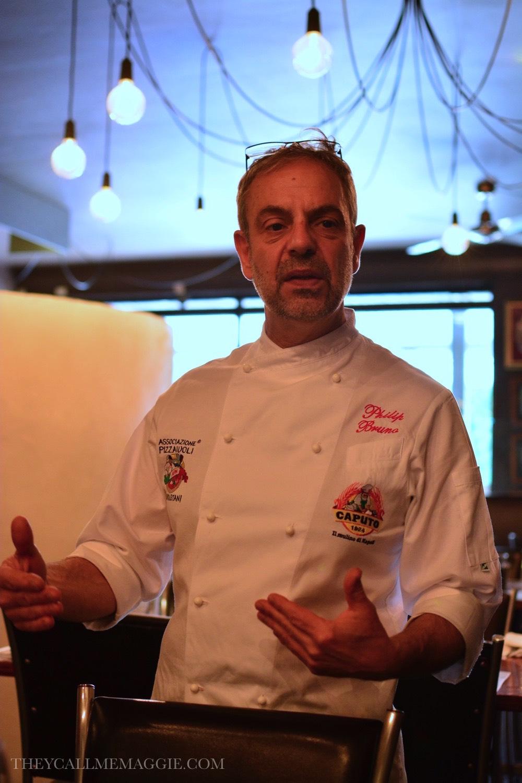 Pizzaiolo expert Phillip Bruno.