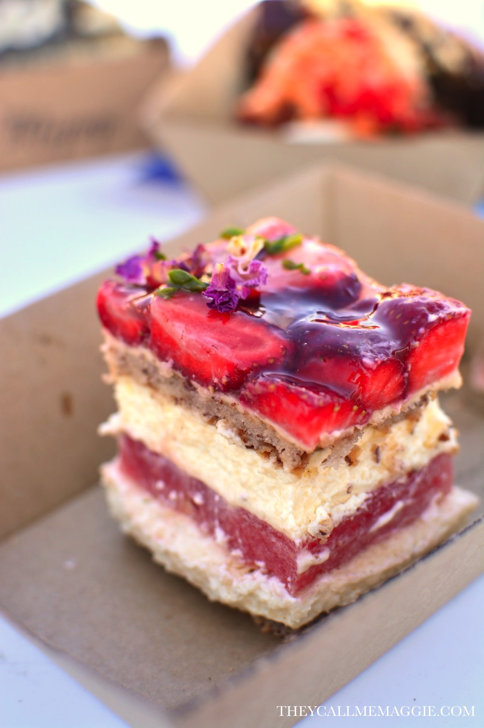 Black Star Pastry's famed strawberry watermelon cake. Come to Melbourne already!