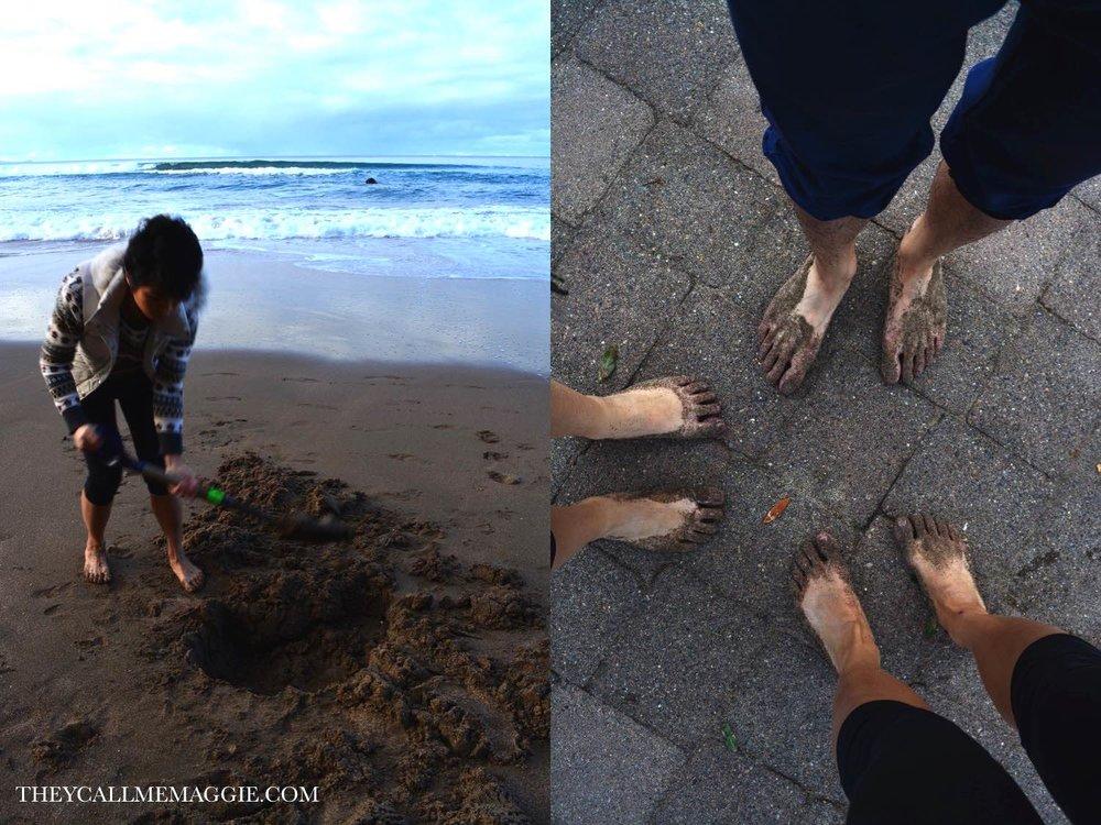 Hobbit feet?