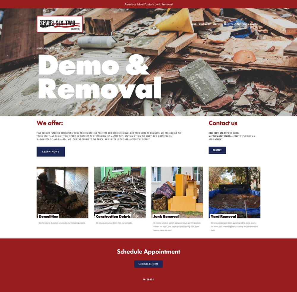 Seven Six Two Website