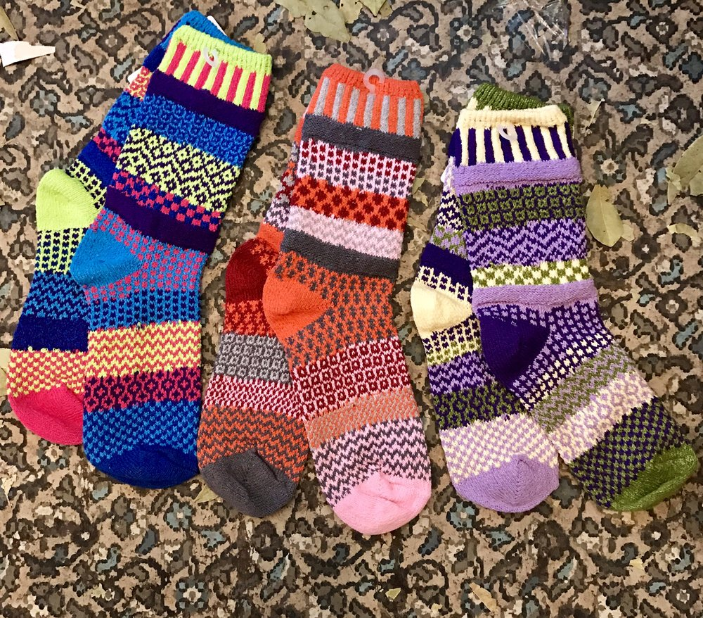 Mismatched Cotton Socks