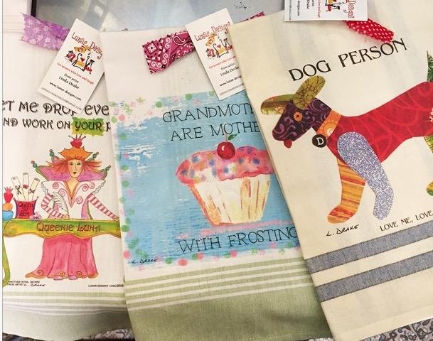 Linda Drake Towels & Cards