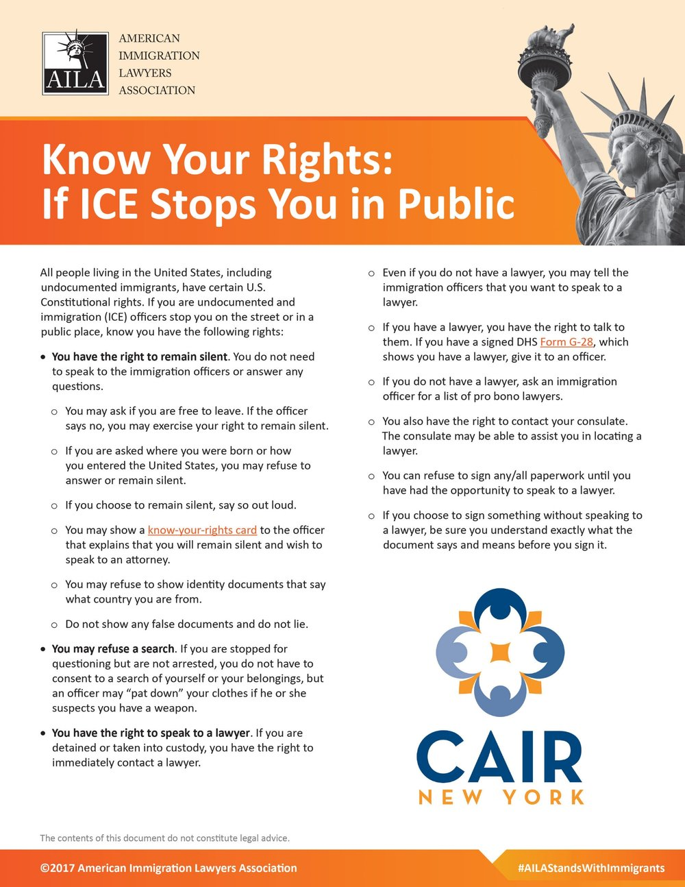 Know Your Rights (English)