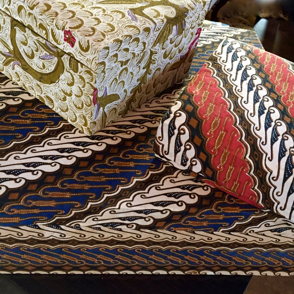 MULTIPLE BATIK BOXES