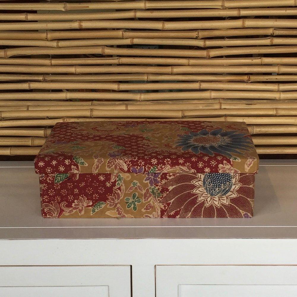 Vintage Batik Box
