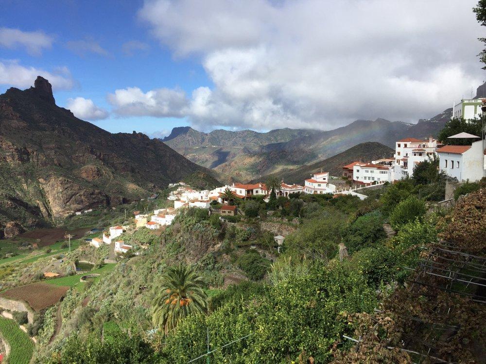 Stunning countryside in Tejeda, Gran Canaria
