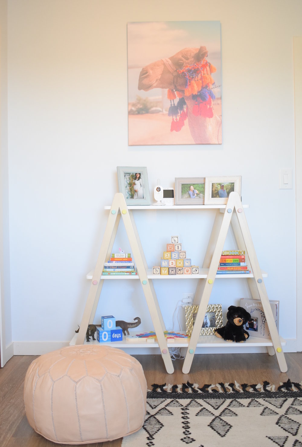desert-themed-nursery-bookcase-and-camel