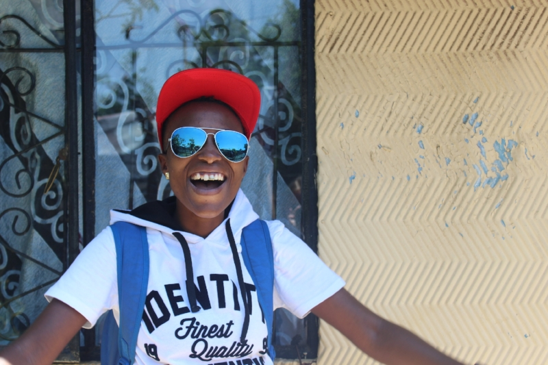 Mandisa  Soweto, South Africa  Mandy loves to dance, play soccer and eat Mexican pizza from Debonair's.
