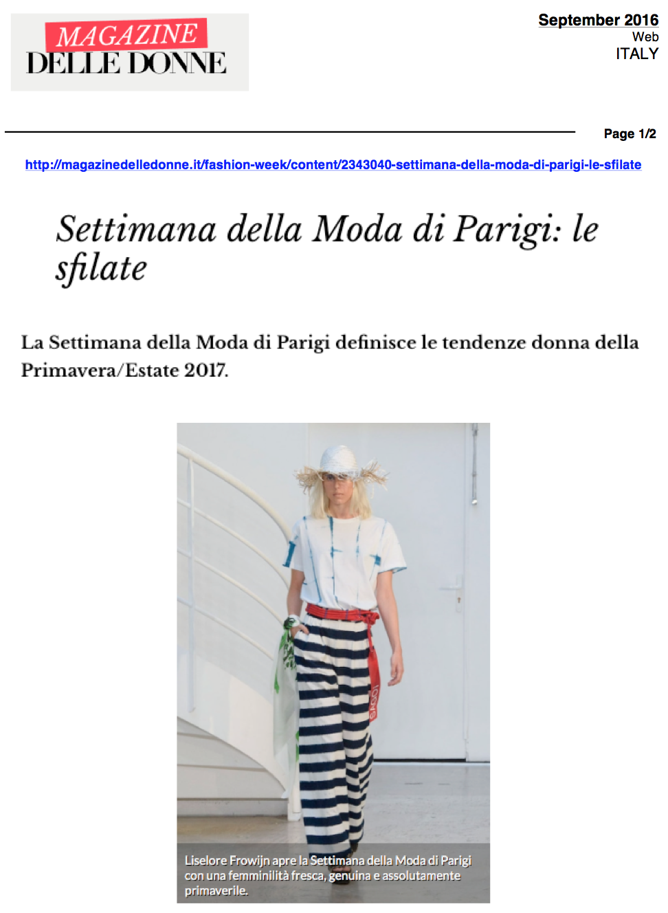 SEPTEMBER 2016 -  MAGAZINE DELLE DONNE 2.png