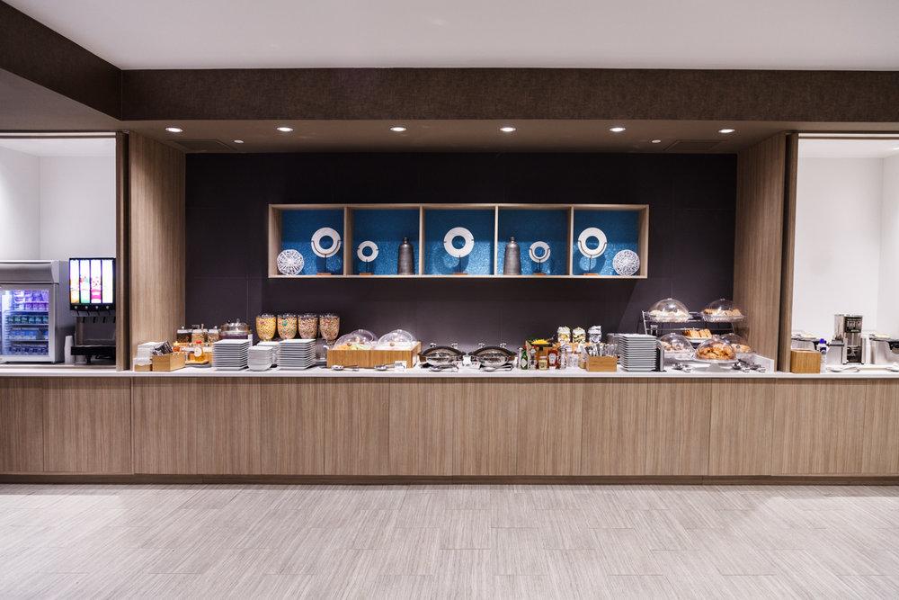Marriott SpringHill Suites Somerset New Jersey Breakfast Room