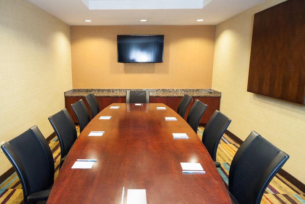 Marriott Fairfield Suites Somerset New Jersey Meeting Room
