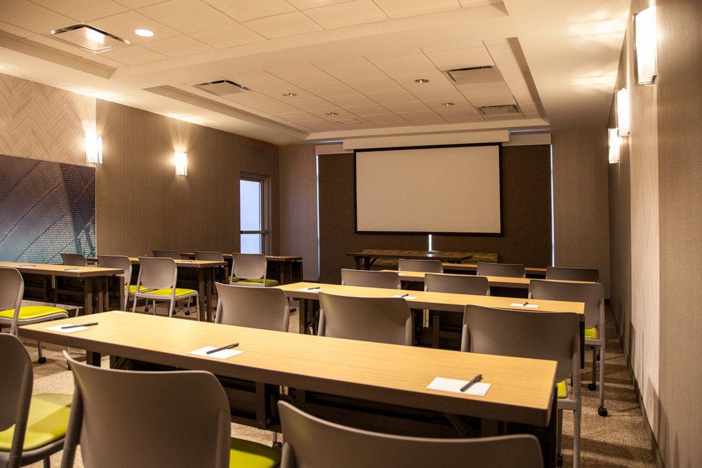 Marriott SpringHill Suites Somerset New Jersey Meeting Room