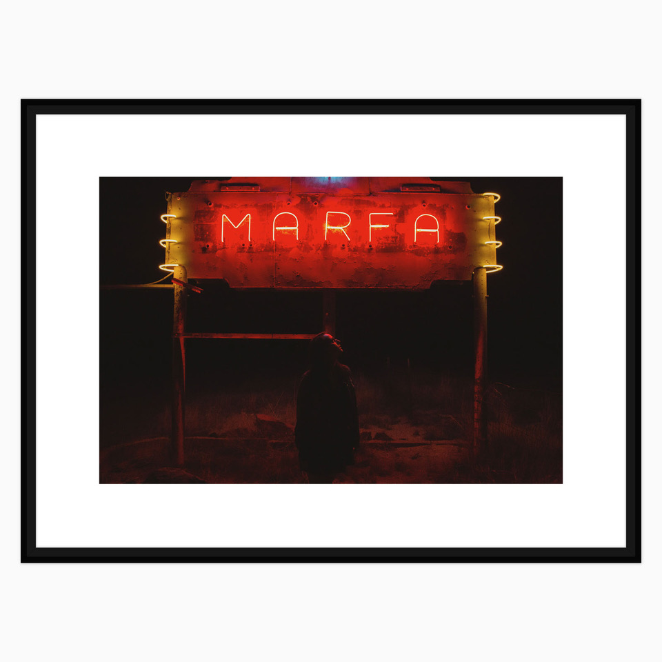 Marfa Lights Print