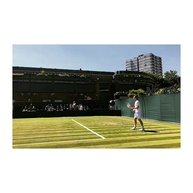 Andy at the home of tennis innit.