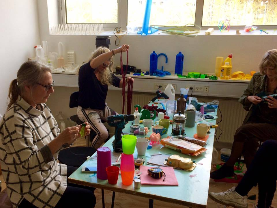 Workshop with Carolien Adriaansche, May 2017