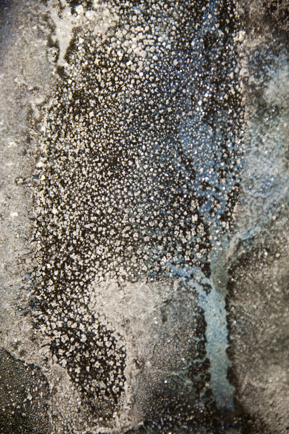 Nika Blasser,  Salt Land, Salt Sea: Drømme fra vor Jord  (detail). Photo by Minik Busk Langkjær.