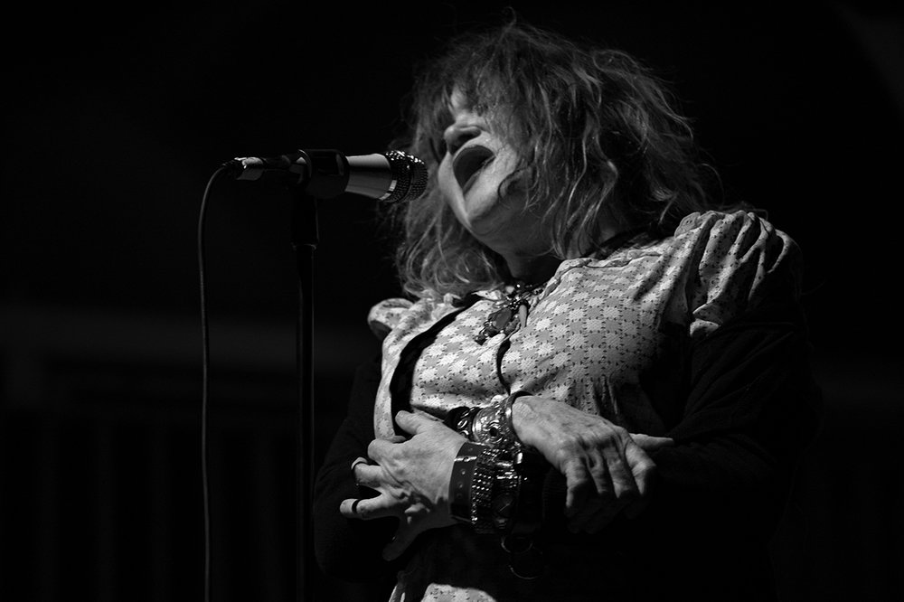 Exene Cervenka at the Crystal Ballroom in PDX, 2017