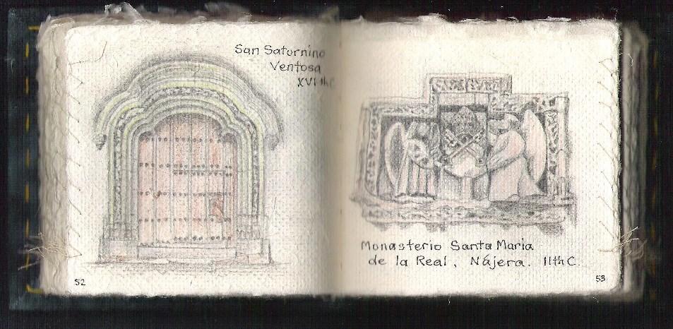 camino-santiago-church-door-sculpture-diane-harries