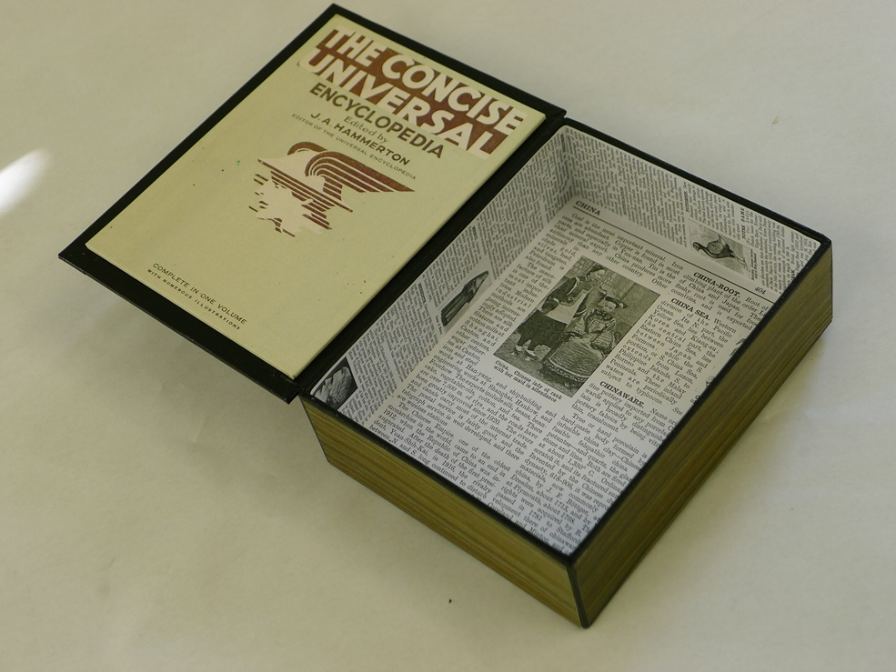 antique ENCYCLOPAEDIA and its pages