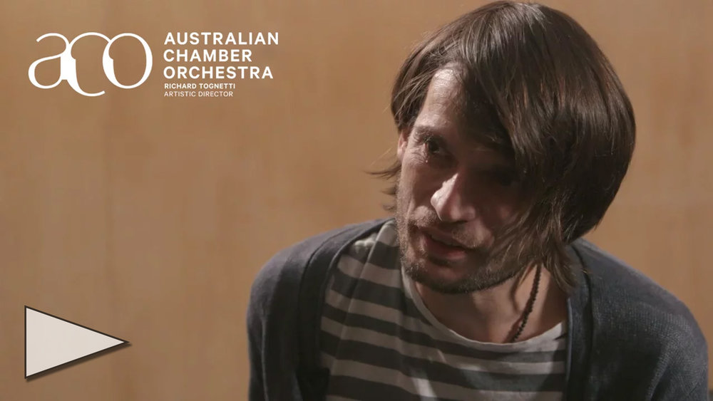 Jonny Greenwood and the ACO perform Water