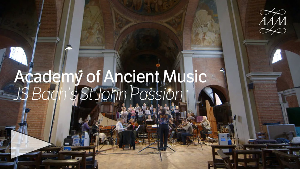 Academy of Ancient Music performs Bach