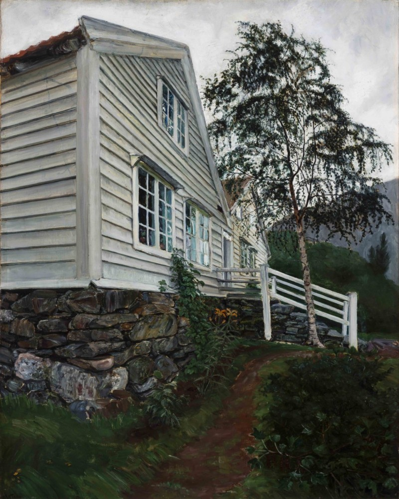 Parsonage-Nikolai-Astrup-The-Chromologist
