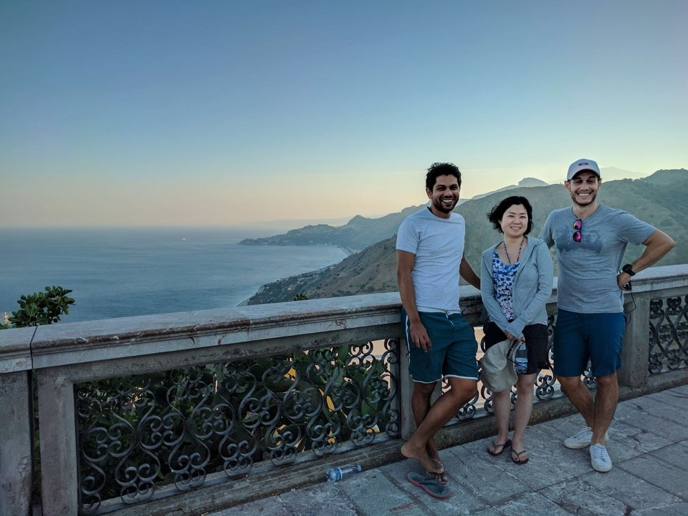 Saleem Lab at Spring Hippocampal Conference, Taormina