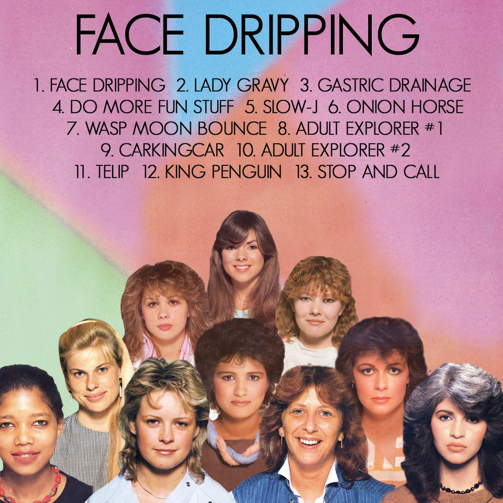 Face Dripping Back Cover
