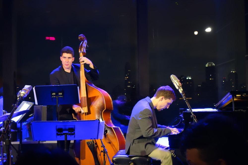 Performing at Dizzy's Club with Alex Warshawsky