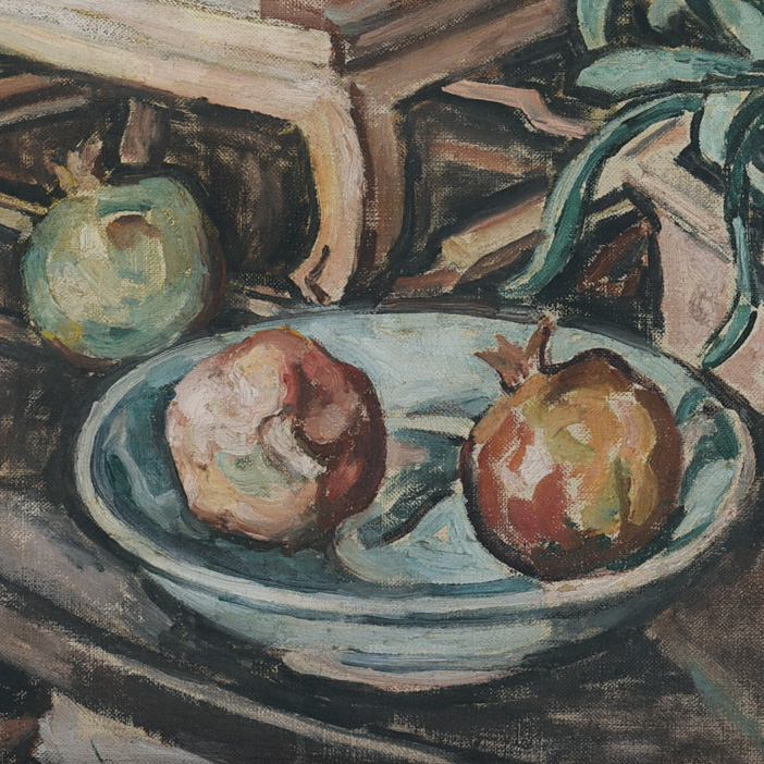 GEORGETTE CHEN A RARE AND SUPERLATIVE 1940s STILL LIFE PAINTING
