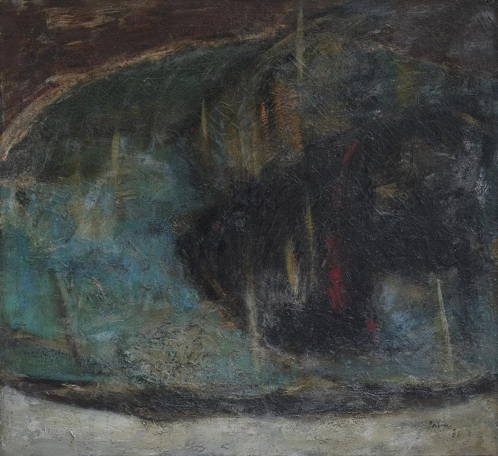 Zaini, Ikan (Fish), ooc, 70 x 60 cm, 1975.jpg