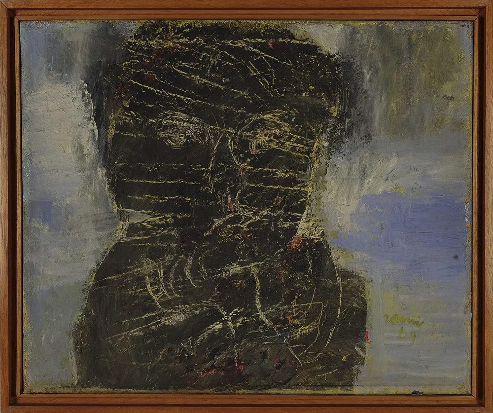 Zaini, Portret Diri (Self Portrait), ooc, 50 x 70 cm, 1964.jpg